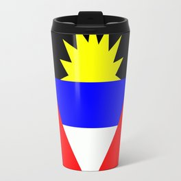 Flag of Antigua and Barbuda Travel Mug