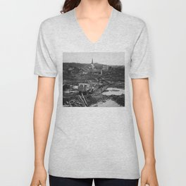 All This Inanimate Wreckage (1945) Unisex V-Neck