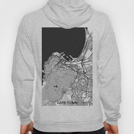 Cape Town Map Gray Hoody
