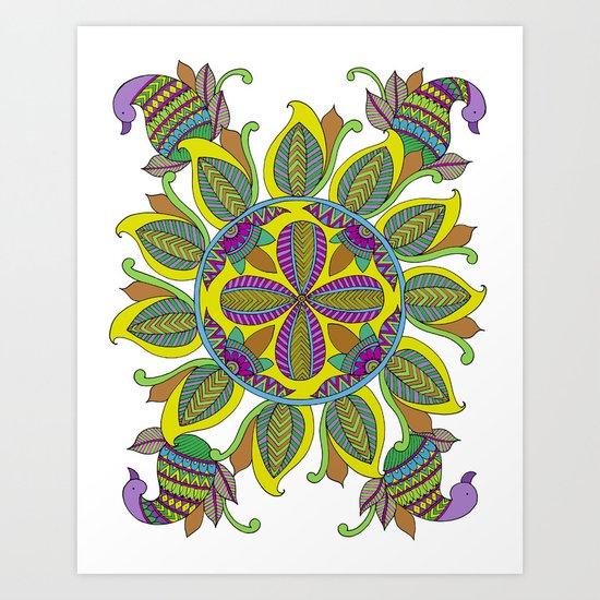 Geometric Shape Series - Circle Art Print