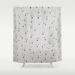 Many Curious Polar Bears Shower Curtain