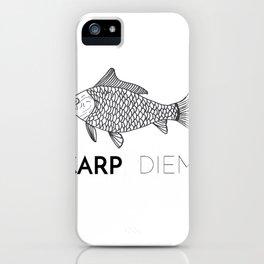 Carp Diem iPhone Case