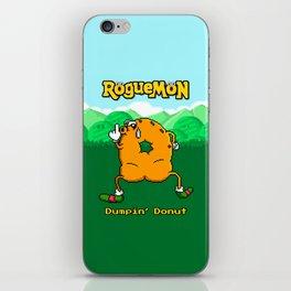Dumpin' Donut iPhone Skin
