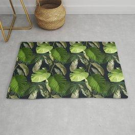 Tropical Leaf Pattern 1 Rug