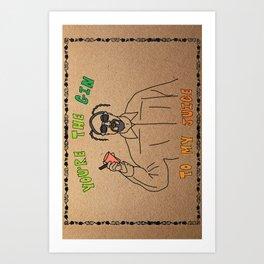 Snoop - Gangstergrams Art Print