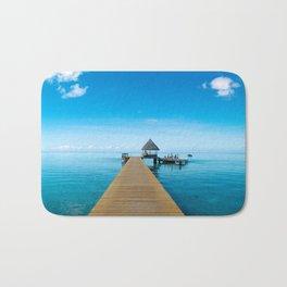 Tahiti Boat Dock Bath Mat