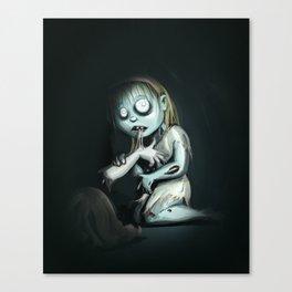 ZombieGirl Canvas Print