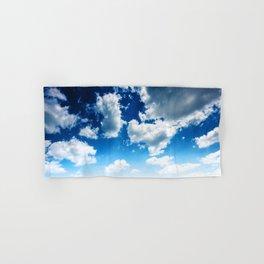 blue sky Hand & Bath Towel