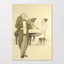 Chamber Music - Victoriana Version  Canvas Print