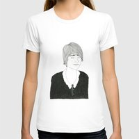 sister T-shirts featuring another sister by David Penela