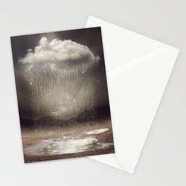 It's Okay. Even the Sky Cries Sometimes. Stationery Cards