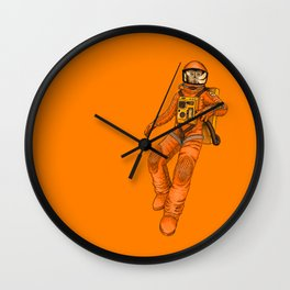 FLOAT - Out in space Wall Clock