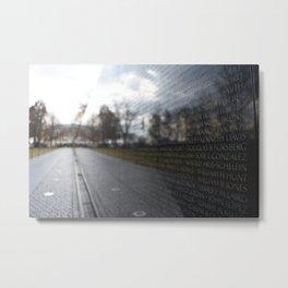 In Memory Metal Print
