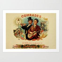 COMRADES Art Print