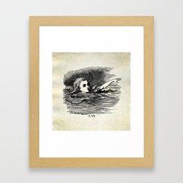 Cry Alice, Cry Framed Art Print