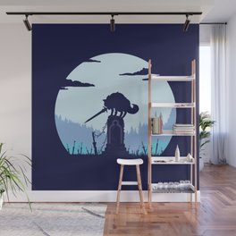 Grey Wolf Sif (Dark Souls) Wall Mural