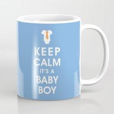 Keep Calm It's A Baby Boy Mug