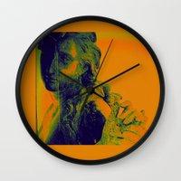 vienna Wall Clocks featuring Vienna III by C Blackburn