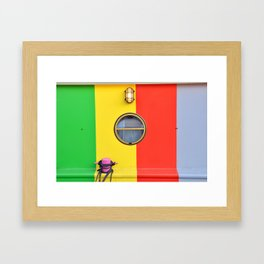 It's All About Colour Framed Art Print