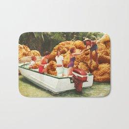 Fried chicken drive-thru Bath Mat