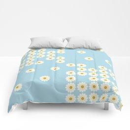 Misplaced daisies Comforters