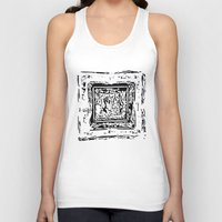 frame Tank Tops featuring Life Frame by ArteGo