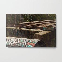 That PNW Bridge Metal Print