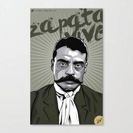Emiliano Zapata - Trinchera Creativa Canvas Print