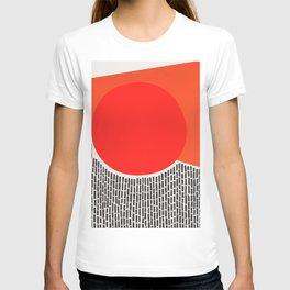 Sunshine And Rain Abstract T-shirt