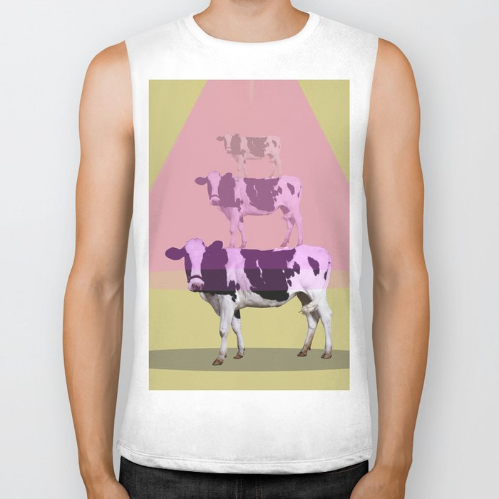 Cows attraction Biker Tank