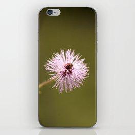Pink flower iPhone Skin
