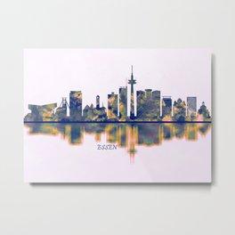 Essen Skyline Metal Print