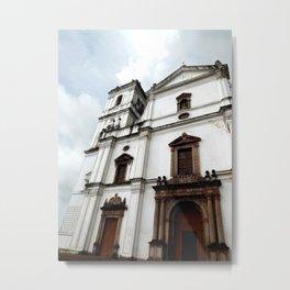 Majestic Church Metal Print