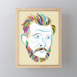 Bon Iver Framed Mini Art Print