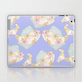 kissing tropical fish Laptop & iPad Skin