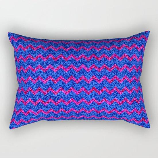 Chevron Glitter Pattern 03 Rectangular Pillow