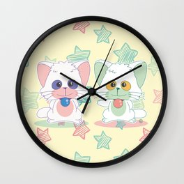 Creamy Mami: Posi and Nega Wall Clock