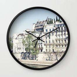 Paris Spring Wall Clock