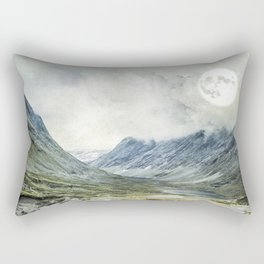 Supermoon in Norway Rectangular Pillow