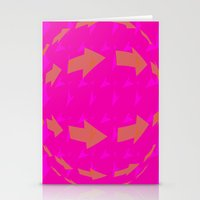 arrows Stationery Cards featuring ARROWS by Latidra Washington