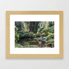 Portland Japanese Garden Framed Art Print