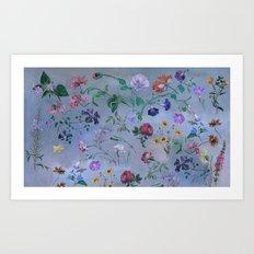 Carpe Diem (flower collection) Art Print