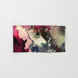 Dark Inks - Alcohol Ink Painting Hand & Bath Towel