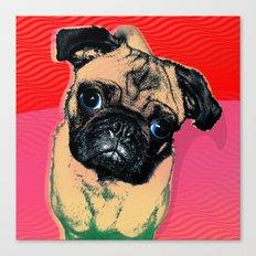 Pug #2 Canvas Print