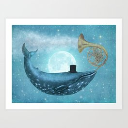 Cloud Maker  Art Print
