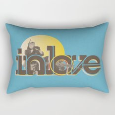 In Love Rectangular Pillow