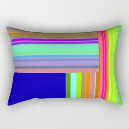 Re-Created  Parquet 8 by Robert S. Lee Rectangular Pillow
