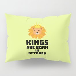 Kings are born in OCTOBER T-Shirt Dzx1p Pillow Sham