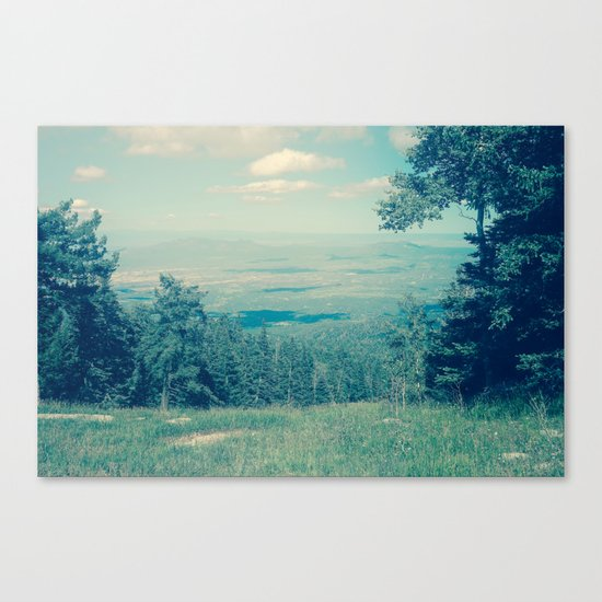 Someone Once Told Me Canvas Print