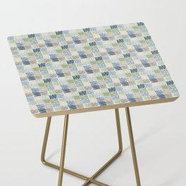 Jungle Set | hand illustrated quilt pattern Side Table